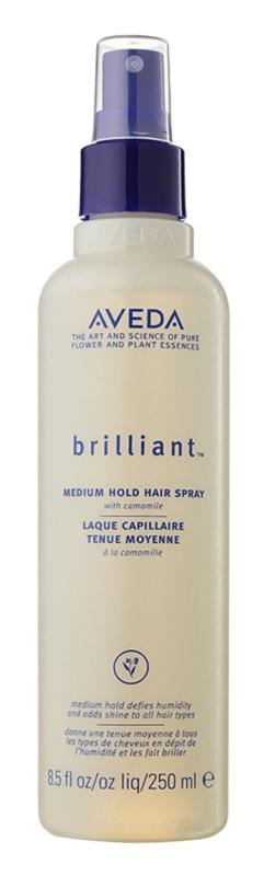 Aveda Brilliant spray cheveux fixation moyenne
