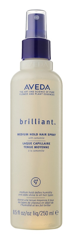 Aveda Brilliant spray cheveux fixation moyenne