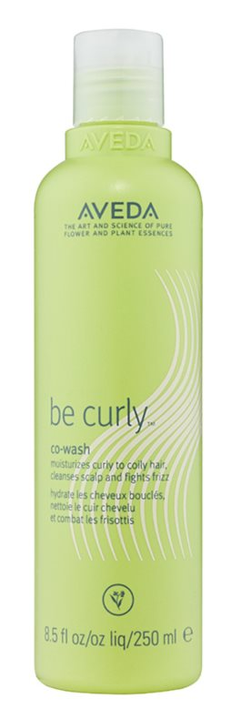 Aveda Be Curly Co-Wash champô hidratante para cabelos cacheados e crespos