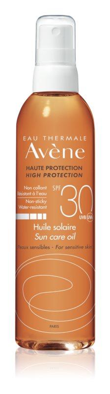 Avène Sun Sensitive óleo bronzeador em cápsulas  SPF 30