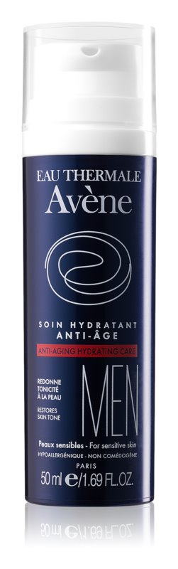 Avène Men crème hydratante anti-âge peaux sensibles