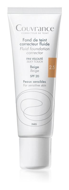Avène Couvrance makeup lichid SPF 20