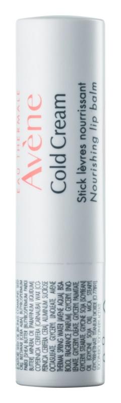 Avène Cold Cream baume à lèvres nourrissant en stick
