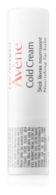 Avène Cold Cream balsamo per labbra nutriente in bastoncino
