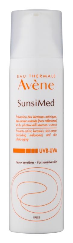 Avène Sun Sensitive захисна емульсія для чутливої шкіри та шкіри, схильної до алергії  з високим ступенем UV захисту