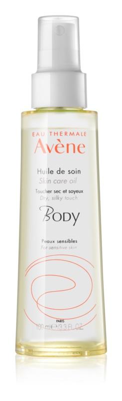 Avène Body сухо масло за тяло за чувствителна кожа