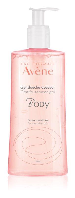 Avène Body nežni gel za prhanje za občutljivo kožo