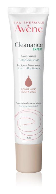 Avène Cleanance Expert emulsión con color para imperfecciones de la piel con acné
