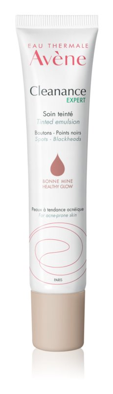 Avène Cleanance Expert Tinted Emulsion Against Imperfections Acne Prone Skin