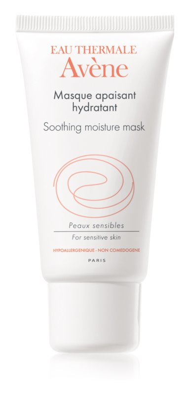 Avène Skin Care umirujuća i hidratantna maska