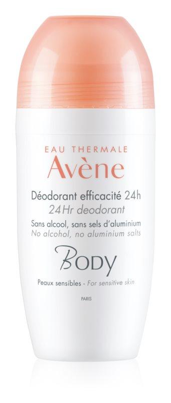 Avène Body déodorant roll-on pour peaux sensibles