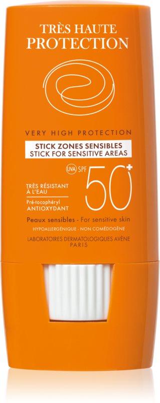 Avène Sun Sensitive Stick For Sensitive Areas SPF 50+
