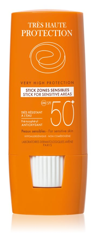 Avene Sun Sensitive Stick For Sensitive Areas SPF50+