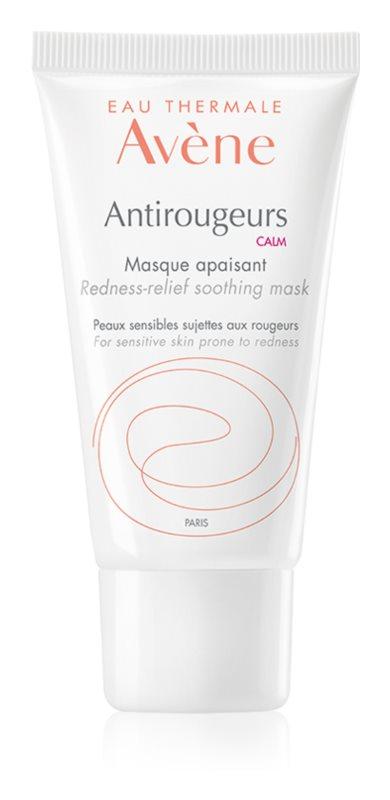 Avène Antirougeurs nyugtató maszk Érzékeny, bőrpírra hajlamos bőrre