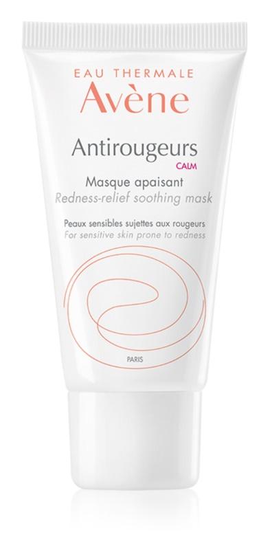 Avène Antirougeurs zklidňující maska pro citlivou pleť se sklonem ke zčervenání