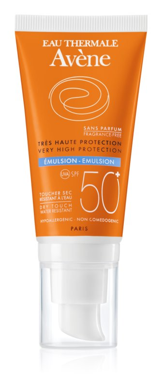 Avène Sun Sensitive emulsie fara parfum SPF50+