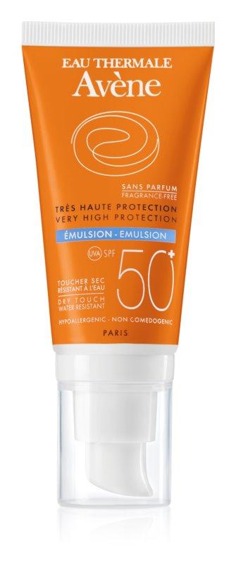 Avène Sun Sensitive parfümmentes napozó emulzió SPF50+