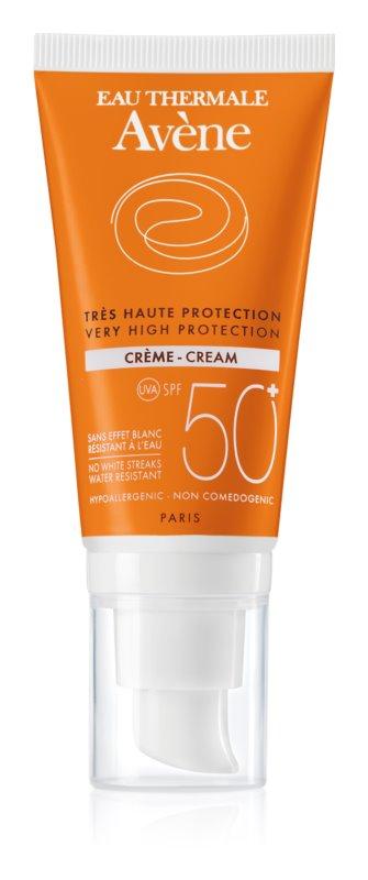 Avène Sun Sensitive захисний крем для сухої та чутливої шкіри SPF 50+