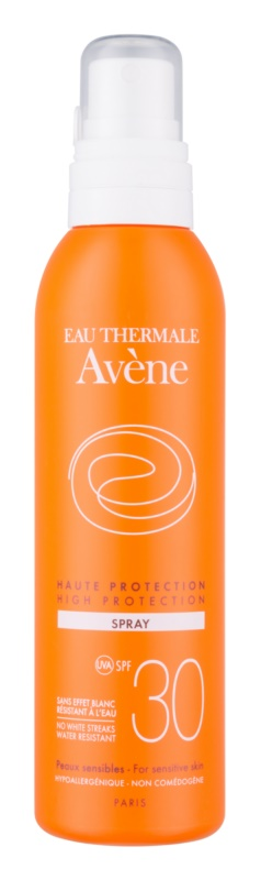 Avène Sun Sensitive spray protector SPF 30