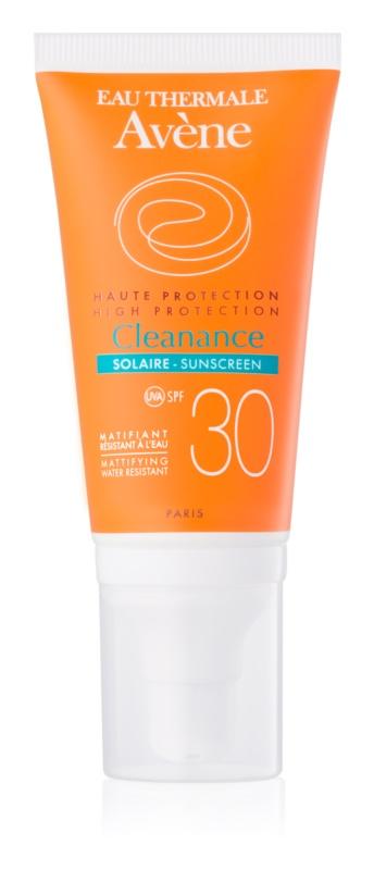 Avène Cleanance Solaire protection solaire pour peaux à tendance acnéique SPF 30