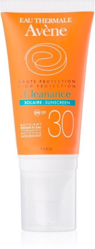 Avène Cleanance Solaire Sonnenschutz für Haut mit Akneneigung SPF 30