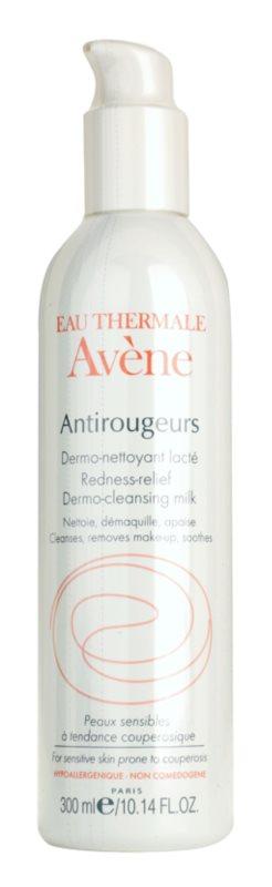 Avène Antirougeurs lait nettoyant pour peaux sensibles sujettes aux rougeurs