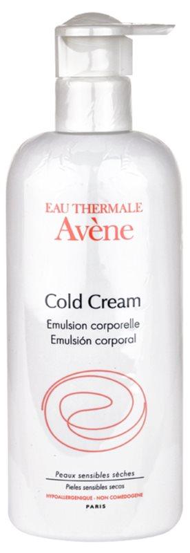 Avène Cold Cream emulsión corporal para pieles muy secas