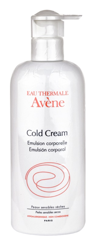 Avène Cold Cream loção corporal para pele muito seca
