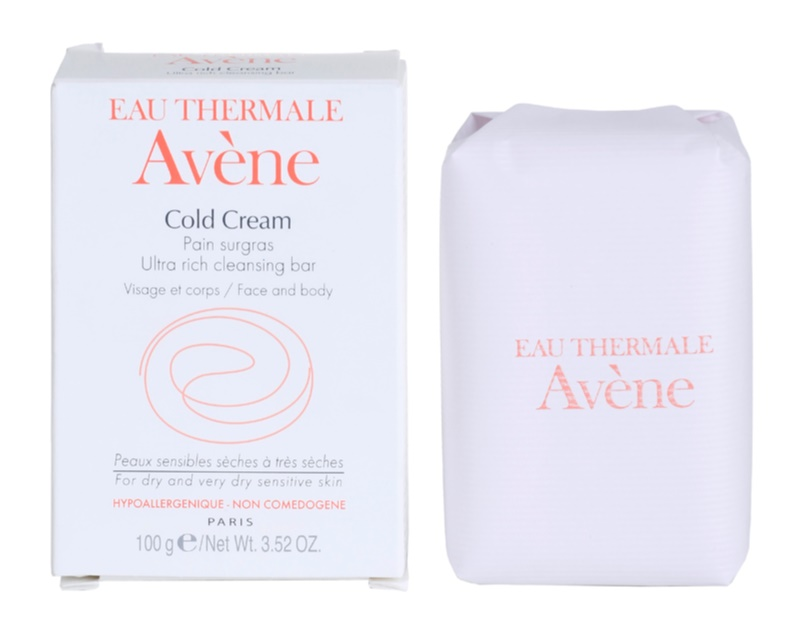Avène Cold Cream jabón para pieles secas y muy secas
