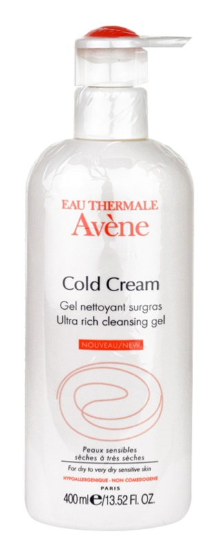Avene Cold Cream Ultra Rich Cleansing Gel for Very Dry Skin