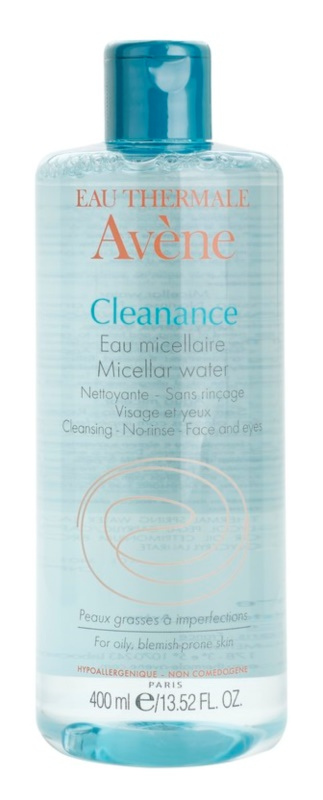 Avène Cleanance lozione micellare detergente per pelli problematiche, acne