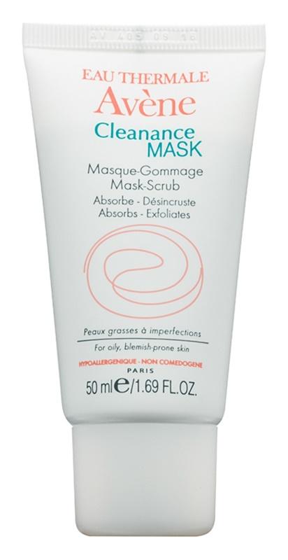 Avène Cleanance máscara esfoliante para pele problemática, acne