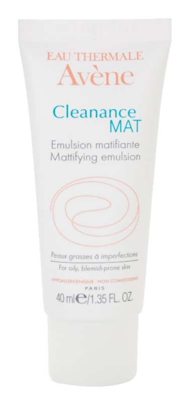 Avène Cleanance Mat emulsione opacizzante per la regolazione del sebo