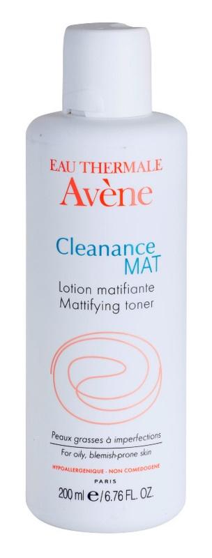 Avène Cleanance Mat čistiace tonikum pre mastnú a problematickú pleť