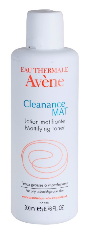 Avène Cleanance Mat tonic pentru curatare pentru ten gras si problematic