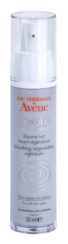 Avène PhysioLift bálsamo regenerador de noche con efecto alisante antiarrugas profundas
