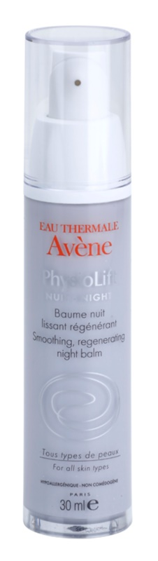 Avène PhysioLift smoothing regenerating night balm To Treat Deep Wrinkles