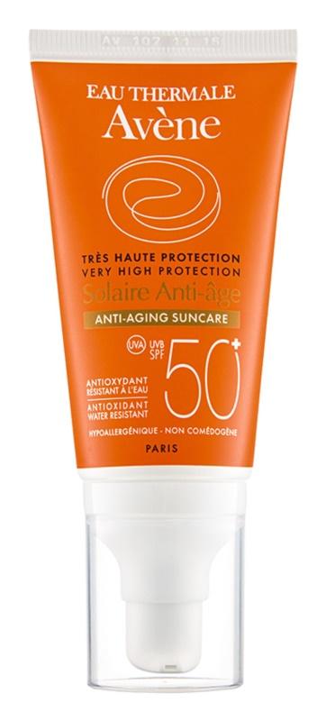 Avène Sun Anti-Age crème protectrice visage anti-rides SPF 50+