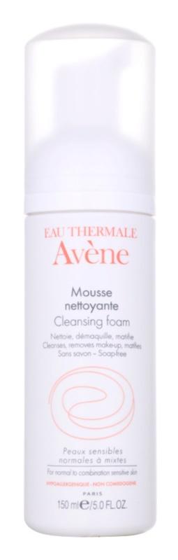 Avène Skin Care pjena za čišćenje za normalnu i mješovitu kožu lica