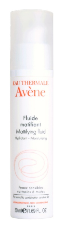 Avène Skin Care Mattifying Fluid Moisturizing for Normal to Mixed Skin