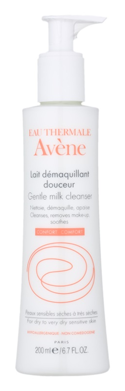 Avène Skin Care Gentle Milk Cleanser for Sensitive Skin