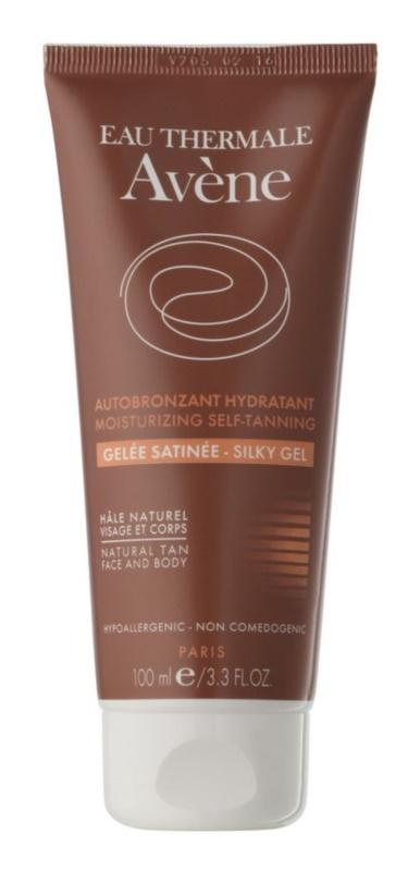 Avène Sun Self Tanning gel auto-bronzant visage et corps