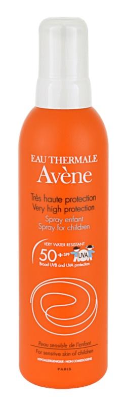 Avène Sun Kids спрей за тен за деца SPF50+