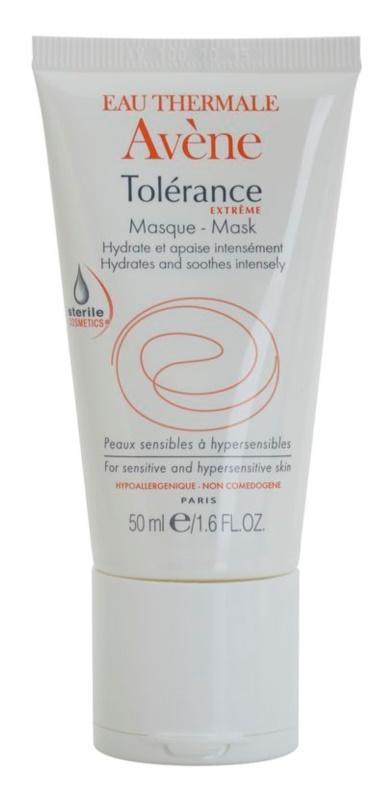Avène Tolérance Extreme intenzív hidratáló maszk az arcbőr megnyugtatására