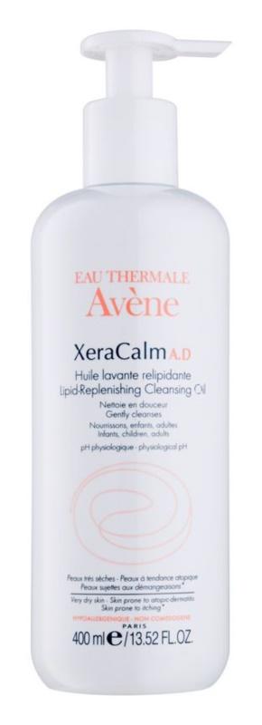 Avène XeraCalm A.D. óleo de limpeza relipídico