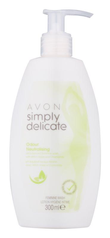 Avon Simply Delicate gél na intímnu hygienu s harmančekom