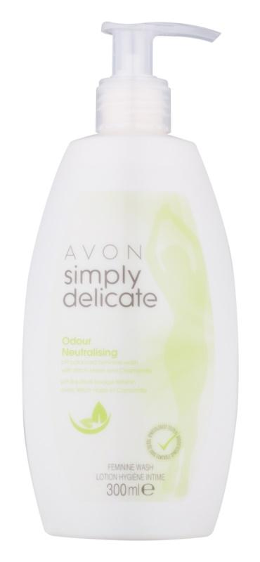Avon Simply Delicate gel pentru igiena intima cu musetel