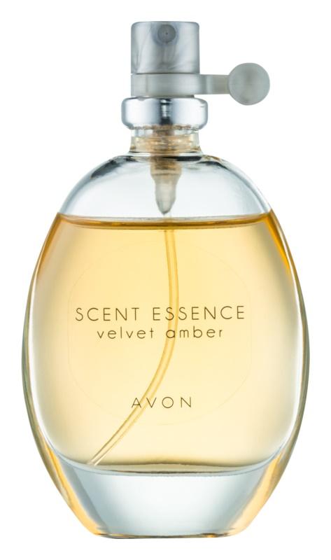 Avon Scent Essence Velvet Amber eau de toilette pentru femei 30 ml
