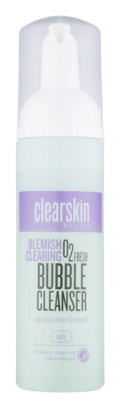 Avon Clearskin  Blemish Clearing очищаюча пінка з вітаміном Е