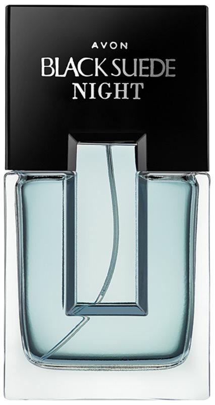 Avon Black Suede Night eau de toilette pentru bărbați 75 ml